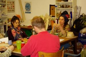 Atelier plantes tinctoriale avec Marie Marquet