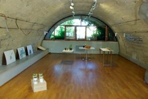 Vue d'ensemble de l'espace d'exposition