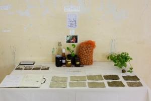 Rendu public de fin de résidence : détail d'échange de paysage de S. Cailleau
